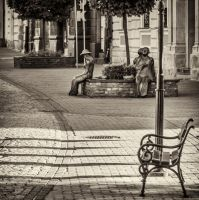 poets and the bench by marrciano