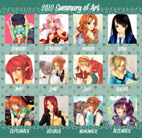 Art Meme 2012 by c-r-y-s