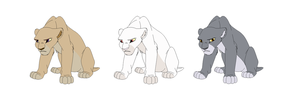 10 point Pregnant lion adopts (closed) by gemms11