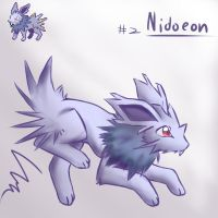 (PFCC)Day 2: Nidoeon by NeroInu