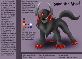 Bane the Absol CS by KasaraWolf
