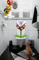 Super Cat Toilet Story by TianaMaros