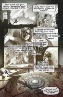 Legacy of Kain: Nosgoth comic demo page 2 by EvanStanley