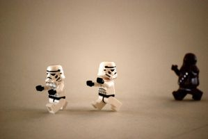 Chased by Chewbacca by GrievousXXX
