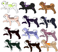 Woof Adoptables 2 by MuttMilk