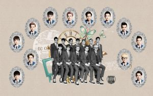 EXO : XOXO Comeback (Kiss and Hug) Wallpaper by KpopGurl