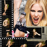 Blend Avril Lavigne by MeggyWorldDolphin