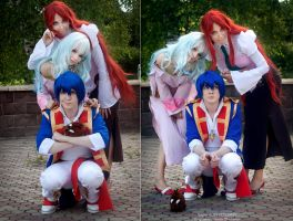 Gurren Lagann - all together by NatalieCartman