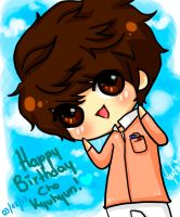 Happy Birthday Cho Kyuhyun by naruvane-san