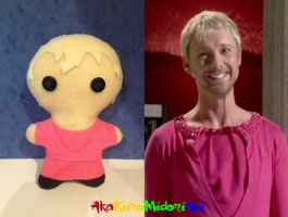 Doctor Who Plushes: The Master - EOT (John Simm) by AkaKiiroMidoriAoi