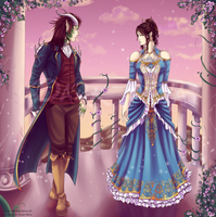 Beauty and the Beast by Dark-Arya