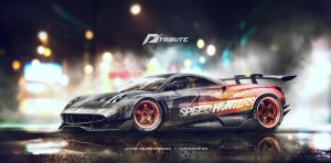 Speedhunters   Huayra Need for speed 2 by yasiddesign