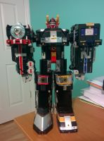 Super Train Megazord by SentaiFive