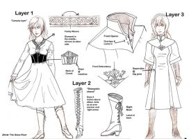 Jeva's Outfit Design by RoxyRoo