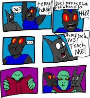 TERRY AND BLUEBEETLE IN... by thundergrowl
