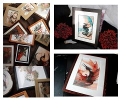 Oh framed paintings by RubisFirenos