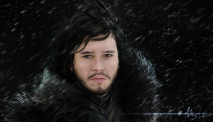 Jon Snow- Painting by Lasse17