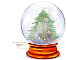 Christmas Snow Globe by selinmarsou
