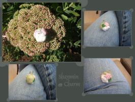 Shaymin MM keychain charm by G-manluver