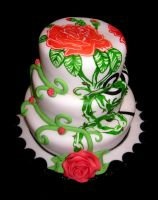Painted cake 1 by bahgee