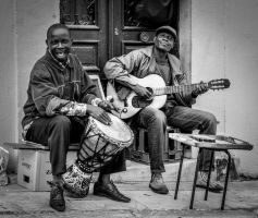 Music on Streets by LeonidasMatisPhotos