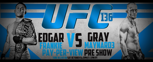 Ufc 136 PREDICTION COMPETITION BANNER by Mohamed-Fahmy