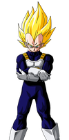 Vegeta Super Saiyan by SbdDBZ