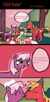 Adult kisses by Helsaabi