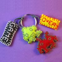 Game over - keyring by coco-flower
