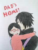DAD'S HOME! by SilenceEchoes39