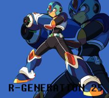 Rockman X by shirouyuki