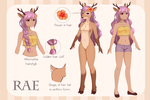 Rae [Reference sheet] by FeliciaSilvermoon