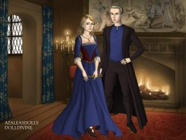 Buffy and Spike Tudor Style by TFfan234