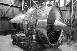 High Bypass Ratio Jet Engine by ace2029