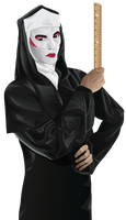 Drag Nun by aliquotoculos