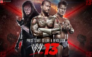 WWE 13 Wallpaper by briorey