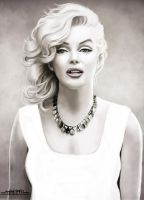 MARILYN MONROE by amirulhafiz