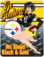 Steeler Girl 1 by yankeedog