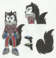 """Abbey T. """"Argent"""" Cat by OneWingedDaemon"""