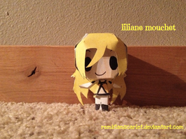 EC Papercrafts - Liliane Mouchet by RemiFlanScarlet