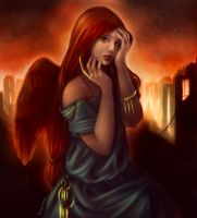 Com 29 - Angel Of Sorrow Color by DarlingMionette