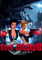 Fear Effect Retro Helix - Box Art Poster by FearEffectInferno