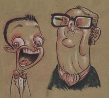Pee Wee and Mr Buxton by JeffVictor