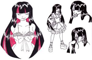 Persona - Alice Nagase Character Sheet by kamon-san