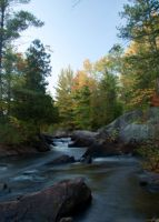 Daves Falls Autumn by aRt2faKt