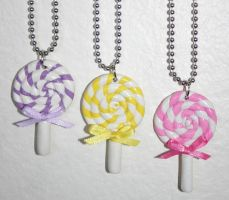 Lollipop Necklaces by jbphillips