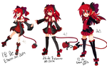 Alisha's Evolution by Anini-Chu
