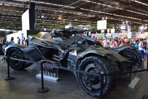 Japan expo 11 Batmobile by jeanmouloude