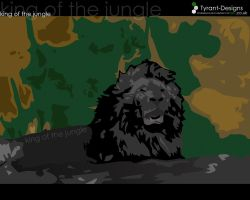 King of the jungle by Tyrant-Designs