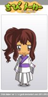 CHIBI ME!!!!! by lilpaintergirl